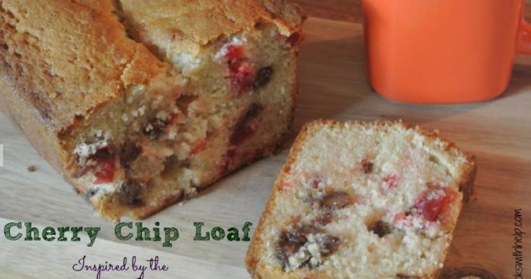 Cherry Chip Loaf (Inspired by the 12 Dates of Christmas)