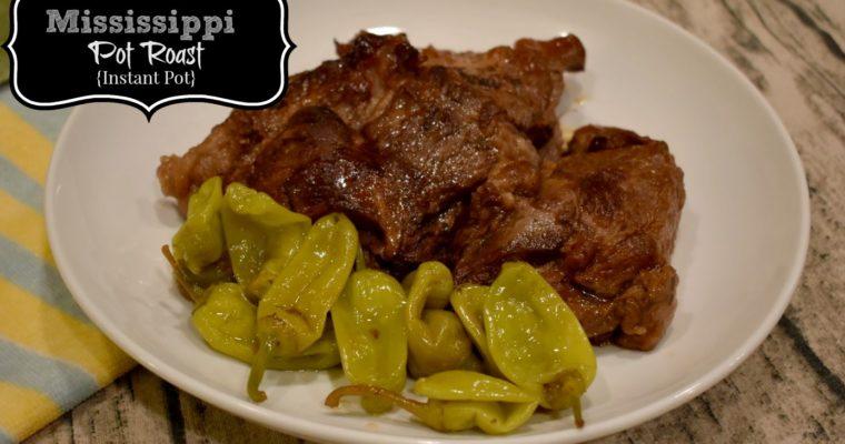 Mississippi Pot Roast Recipe {Instant Pot/Pressure Cooker}