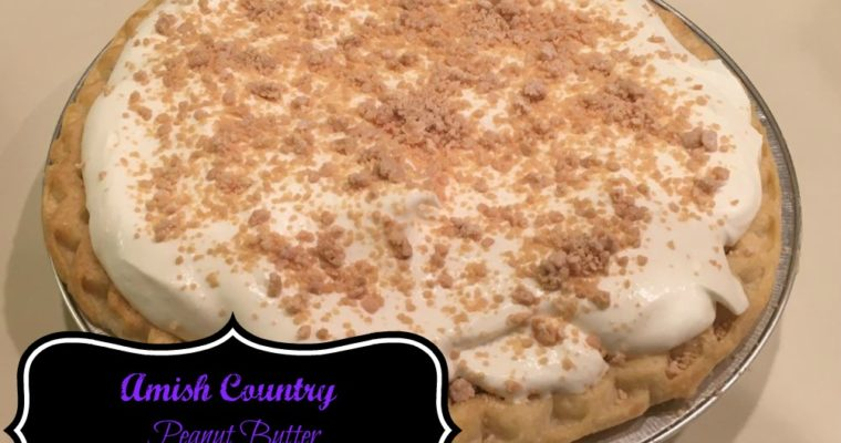 Amish Country Peanut Butter Pie Recipe