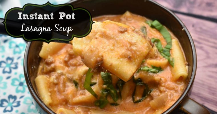 How to Make Lasagna Soup in the Instant Pot