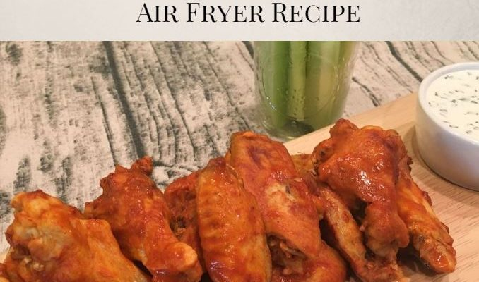 Buffalo Chicken Wings using Instant Pot and Air Fryer (SO Good)!!