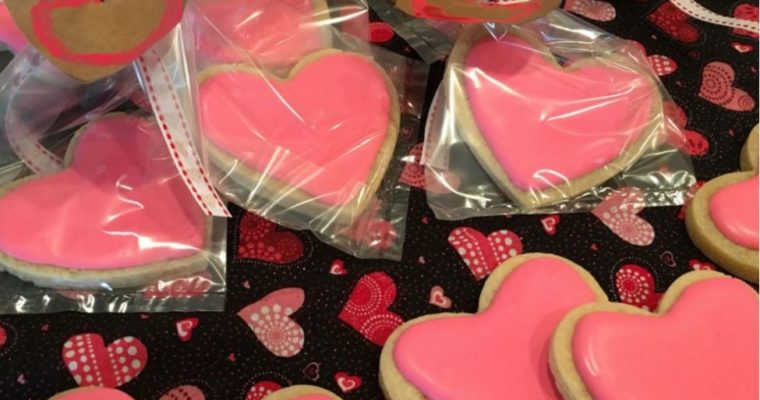 Heart Shaped Cookies with Royal Icing Recipe