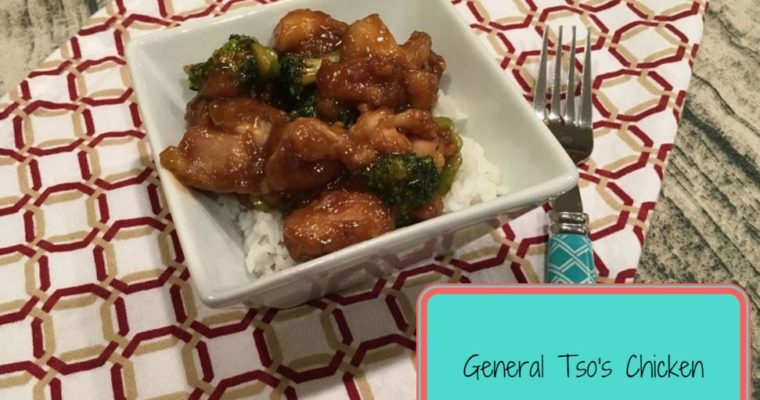 General Tso's Chicken Recipe {With Instant Pot Rice}