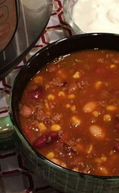 CopyCat Wendy's Chili Soup Recipe {Instant Pot}