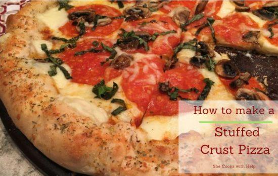 How to make a Stuffed Crust Pizza