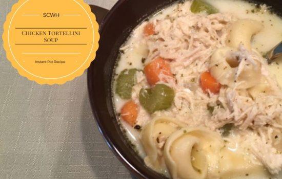 Chicken Tortellini Soup {Instant Pot Recipe}