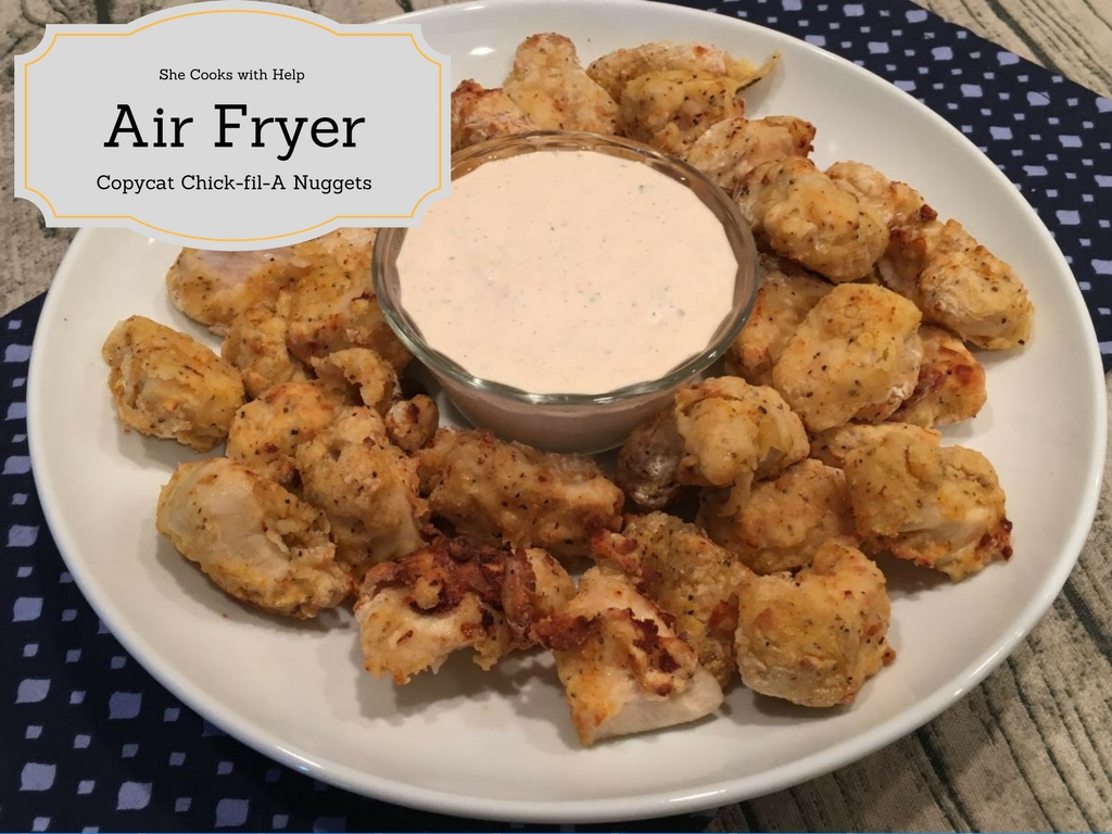 how to cook chicken nuggets in an air fryer