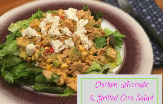 Chicken, Avocado & Grilled Corn Salad