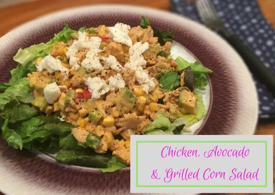 Chicken, Avocado & Grilled Corn Salad
