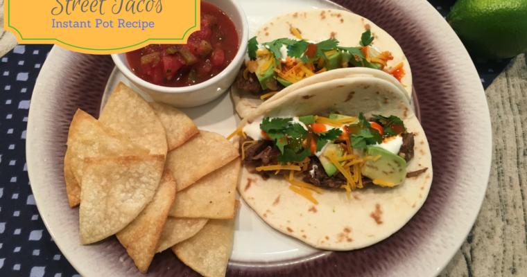 Carna Asada Street Tacos – Instant Pot Recipe