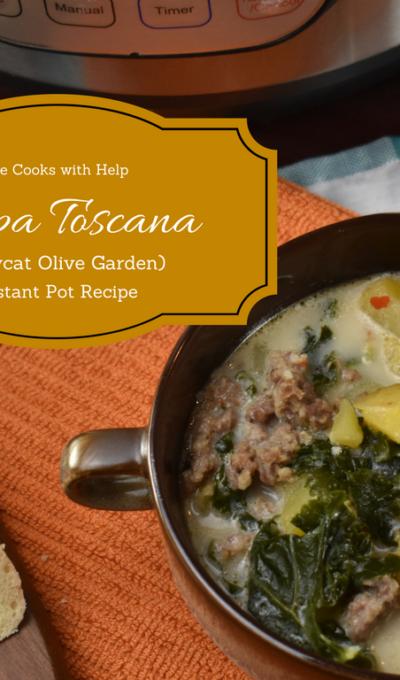 Zuppa Toscana Instant Pot Recipe {CopyCat from Olive Garden)