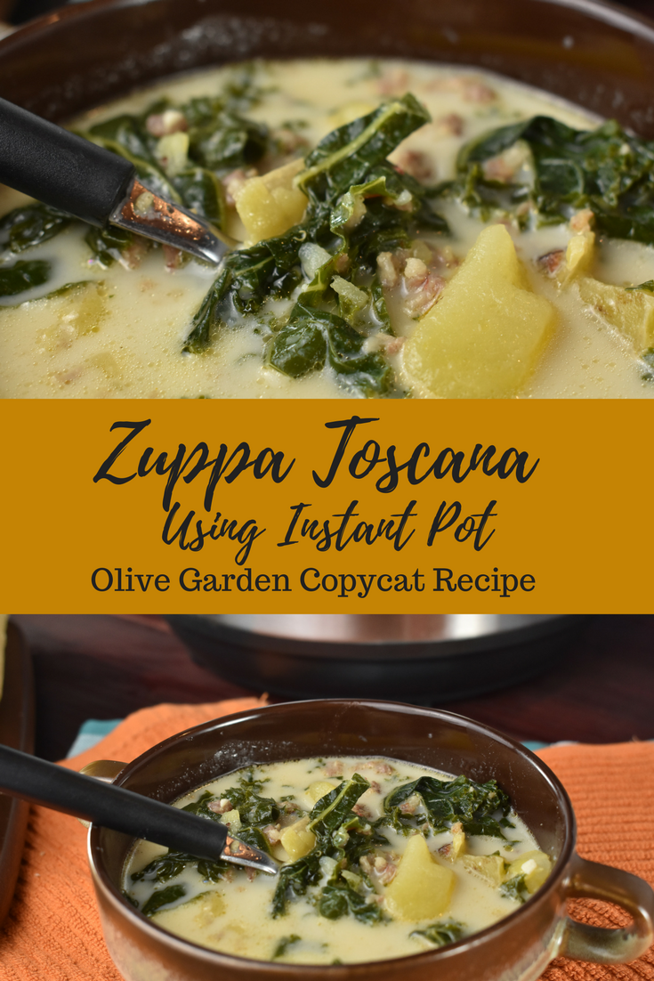 Zuppa Toscana Instant Pot Recipe Copycat From Olive Garden She Cooks With Help